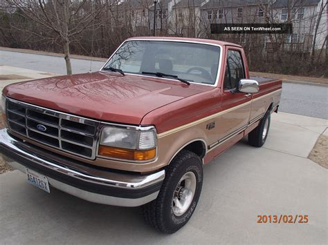 1994 ford f 150 1994 ford f 150 xlt standard cab 2 door 5 8l