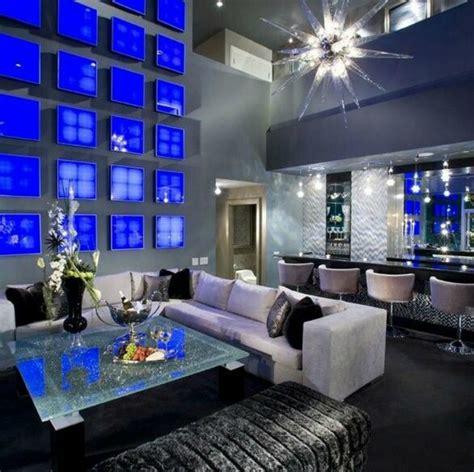 blue interior stunning blue interiors moody monday