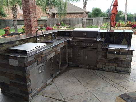 outdoor kitchen cabinets plans outdoor kitchen plans houston having the outdoor