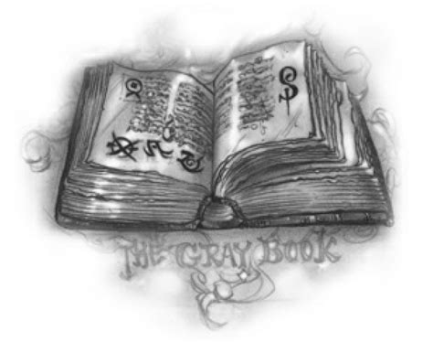 the gray book books grimoire wiki shadowhunters fandom powered by wikia