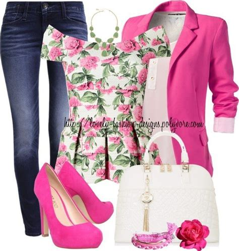 stylish polyvore cute outfits   spring  modish