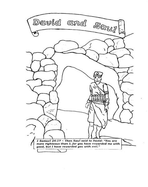 coloring page saul becomes king david and saul free coloring pages on art coloring pages