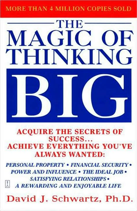 thoughts of you books the magic of thinking big giveaway