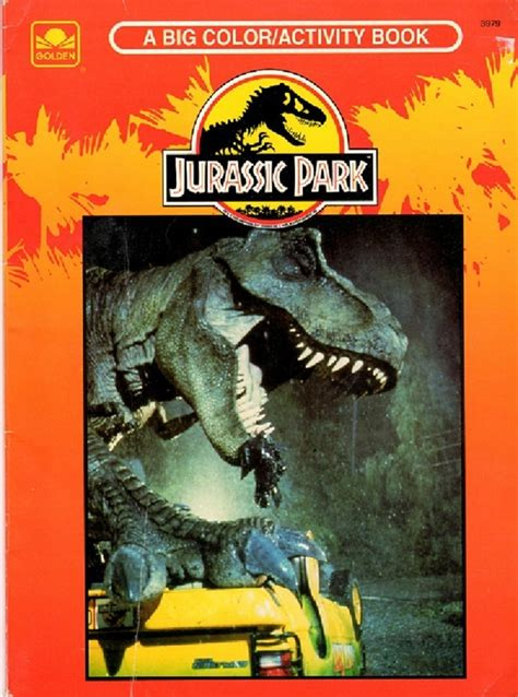 jurassic park golden book jurassic park books 14 pieces of awesome jurassic park memorabilia