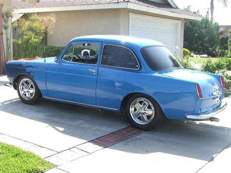 volkswagen hatchback custom 1963 volkswagen custom notchback coupe 130899