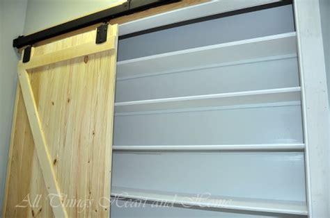 Sliding Barn Door Pantry by Hometalk Adding A Pantry W A Sliding Barn Door