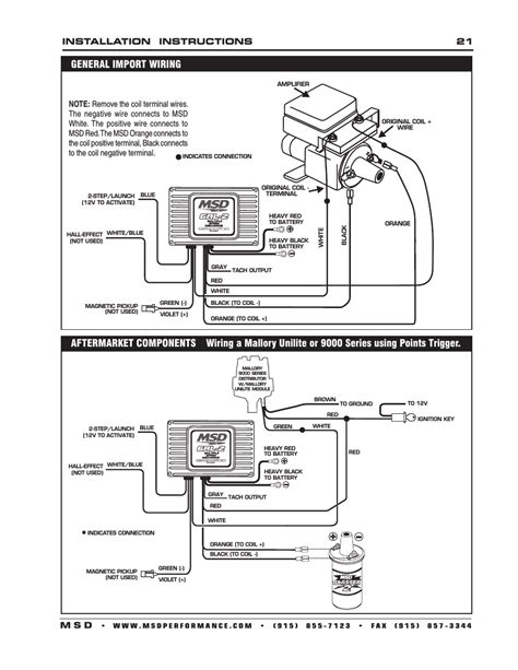wiring diagram for msd 7al3 wiring get free image about
