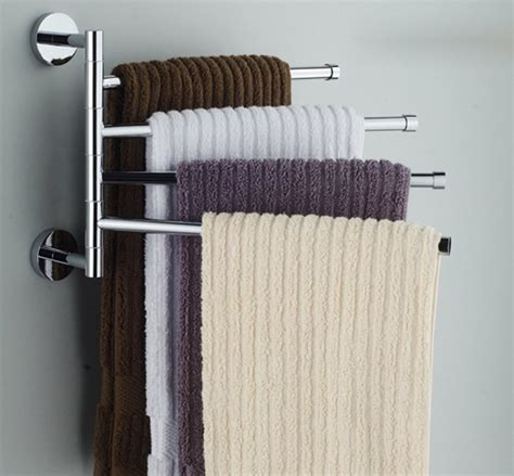 badezimmer handtuchhalter towel bars wall mounted single and swing