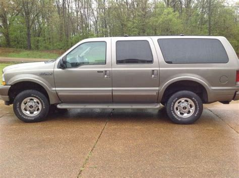 2003 ford excursion limited buy used 2003 ford excursion limited in arlington