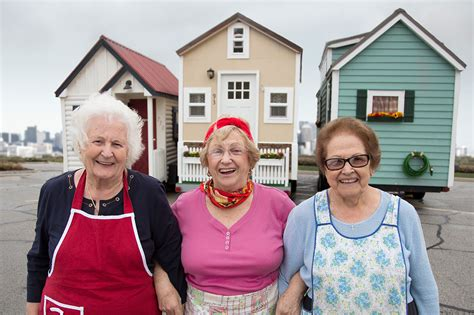 seniors house insurance senior citizens and tiny houses three stories of women