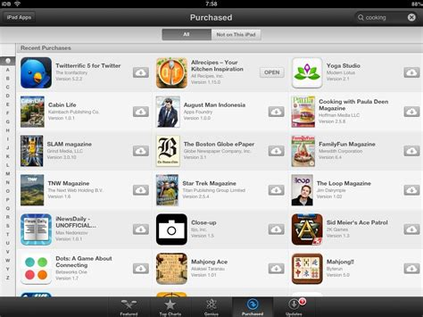 Search App A Closer Look At App Store In Ios 7