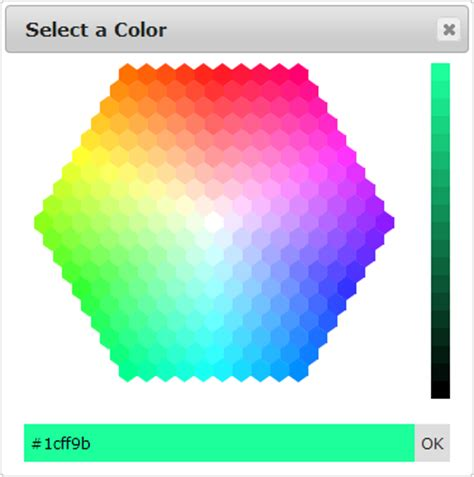 color hex picker jquery hex colorpicker boone putney tx