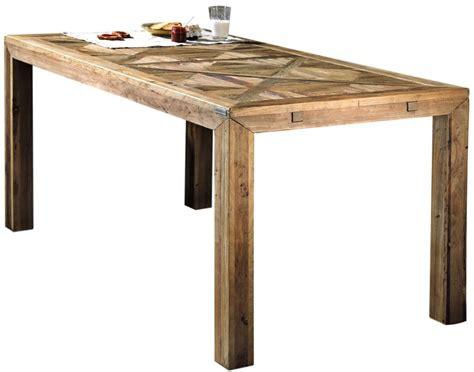 tavolo pranzo legno tavolo da pranzo olmo 140 cm con piano ad intarsio