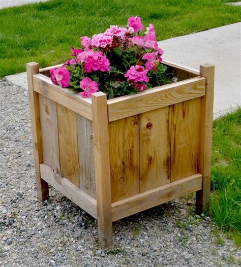 lowes planter box cedar planter box lowes woodworking projects plans