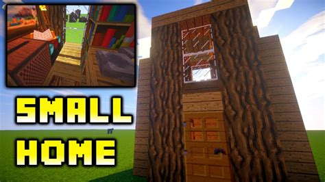 minecraft simple house ideas minecraft how to build easy small house ideas tutorial xbox ps4 pe pc youtube