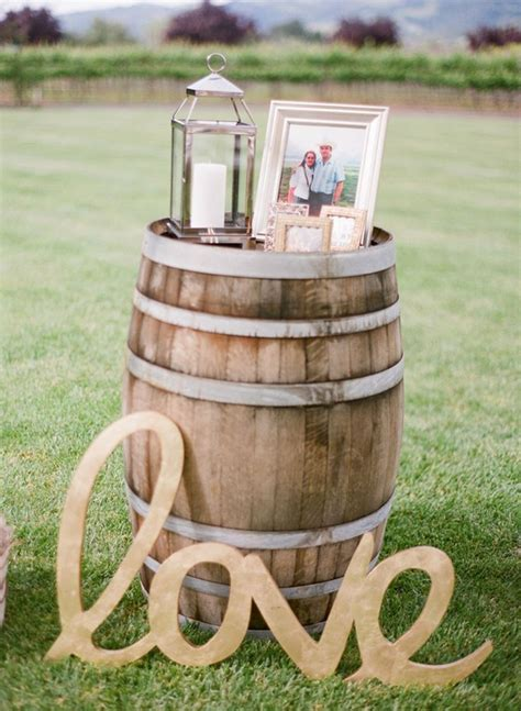 outdoor country decorations country wedding ideas 20 ways to use wine barrels