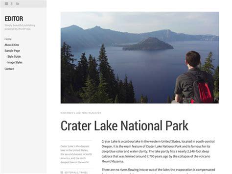 wordpress themes free left menu showcase of beautiful wordpress themes with left sidebars