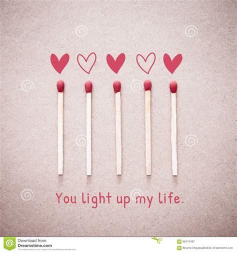 light up your burning card stock photo cartoondealer com 4233060