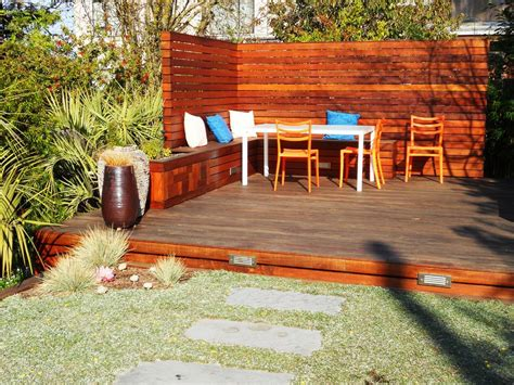 deck planters and benches gorgeous deck planters in small space laluz nyc home design