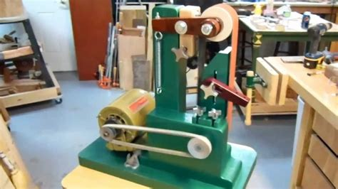 woodworking from home woodworking my vertical 2x36 quot belt sander build in