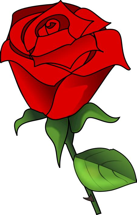 rosa clipart free to use domain clip