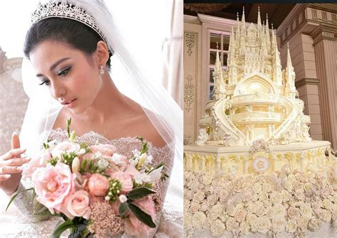chelsea olivia wedding les g 226 teaux les plus prestigieux de mariage des c 233 l 233 brit 233 s