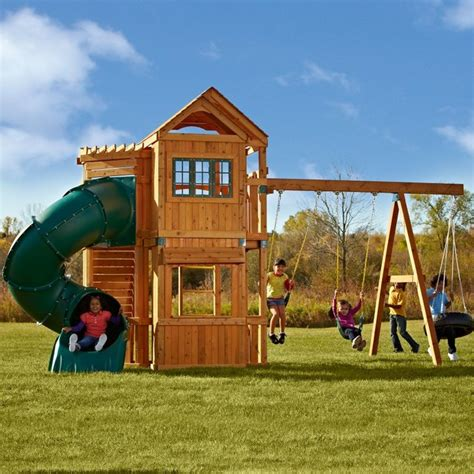 outdoor swing and slide sets swing n slide durango swing set pb 8162 contemporary