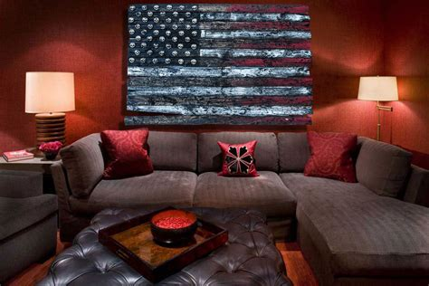 artistic home decor 3d american flag limited edition grunge version