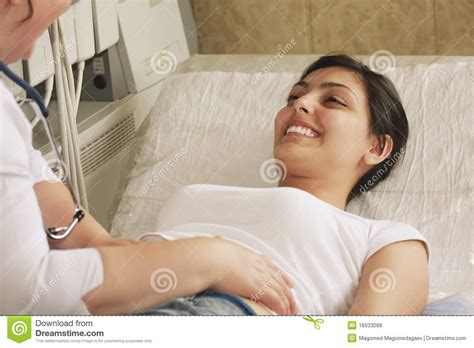 patient couch smiling patient on couch royalty free stock photos image