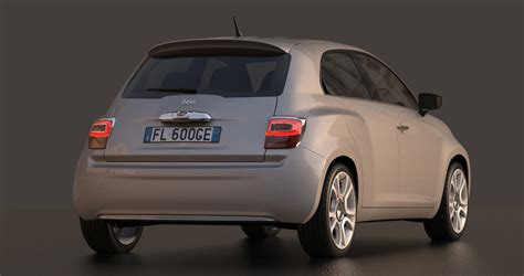 what make is fiat fiat 600 design concept would make a brilliant punto