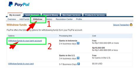 membuat paypal mandiri cara mencairkan uang dari paypal ke rekening artikel