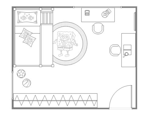Kids Bedroom Layout Free Kids Bedroom Layout Templates Bedroom Design Template