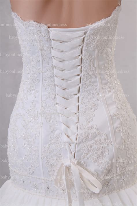 Cheap Wedding Dresses For Sale by Cheap Wedding Dresses For Sale Strapless Appliques