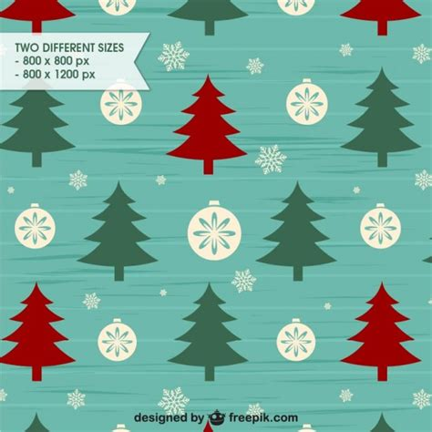 christmas patterns early years retro style christmas background pattern vector free