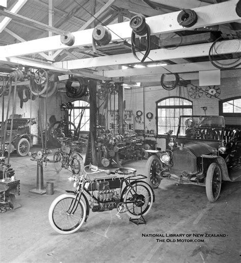 werkstatt vintage new zealand auto repair shop automobiles original