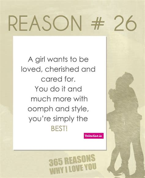 8 Reasons To Be In A Relationship by Reasons Why I You 26 365 Quotes For Him
