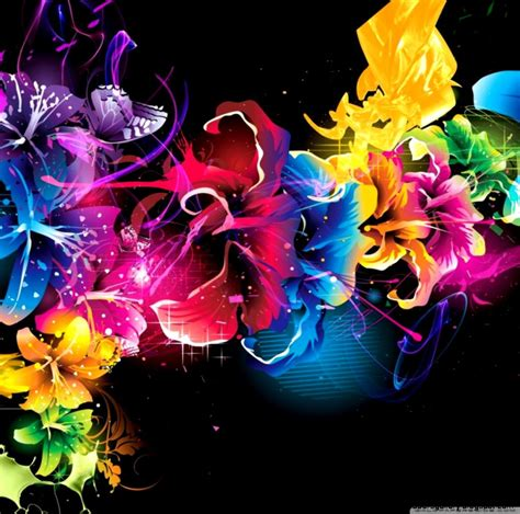colorful flower design colorful flower wallpaper designs wallpapers gallery