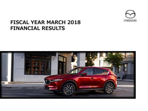 mazda motor corp mazda motor corp adr 2018 q4 results earnings call