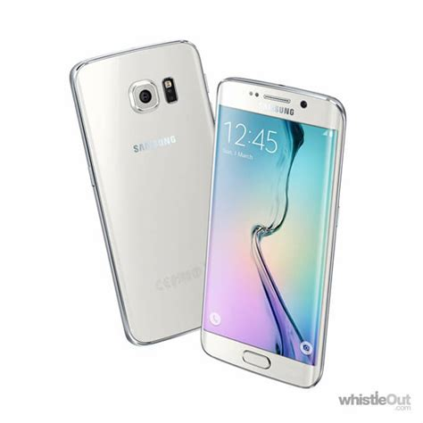 Samsung S6 Edge 64gb samsung galaxy s6 edge 64gb prices compare the best plans from 0 carriers whistleout
