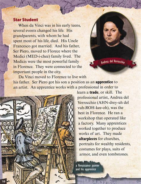 Leonardo Da Vinci Renaissance Artist And Inventor Primary