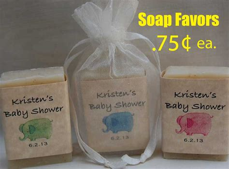 Handmade Favors - baby shower favor elephant favor personalized favor