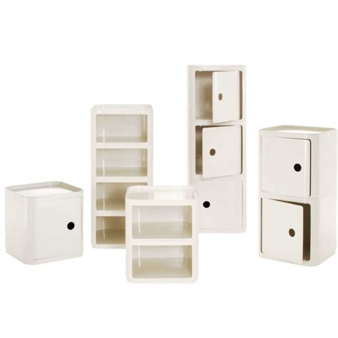 Square Shelf Unit by Kartell Componibili Square Storage Unit By Castelli