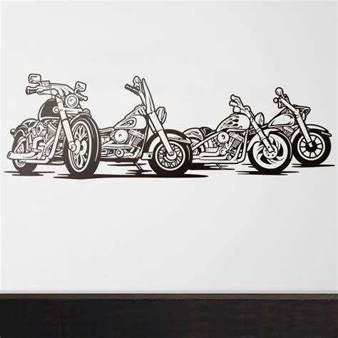 harley davidson wall decal wall decal 4 harley davidson motorbike muraldecal