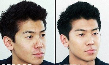 hairstyles for men with acne 5 answers what are the make up techniques for men