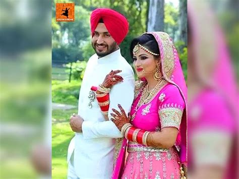 amrinder gill marriage photos with his wife galleryhipcom the 272 best images about pollywood news on pinterest film