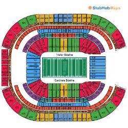 arizona cardinals seating map az cardinals football tix 1 cardinals fan go