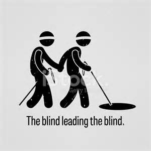 lead the blind the blind leading the blind stock photos freeimages