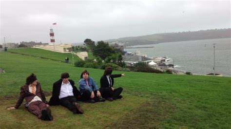 the hoe plymouth recreate your own beatles moment at plymouth hoe west