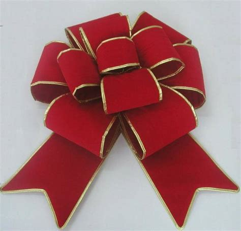 china 24 quot red giant velvet christmas bow bt 3d06 china