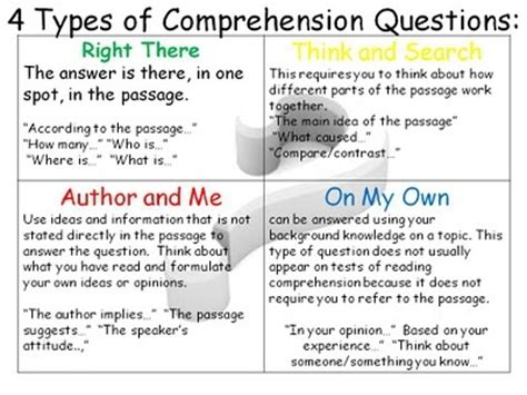 7 Relationship Questions Answered by Qar Strategy Language Arts Grades 6 10